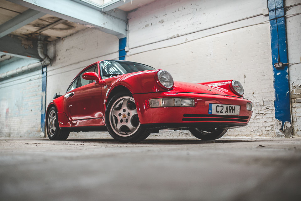1991 Porsche 964 Turbo RHD (58 of 65)