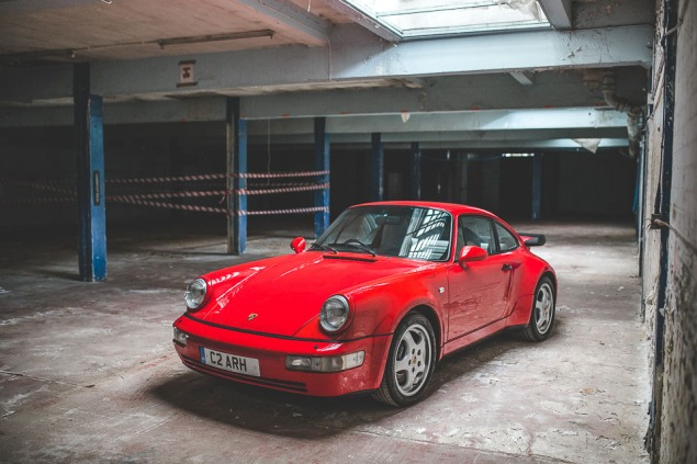1991 Porsche 964 Turbo RHD (60 of 65)
