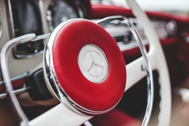 Mercedes 230SL Pagoda 1966 (45 of 127)