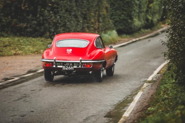 Jaguar e-Type 4.2 Series 2 1970 (68 of 80)