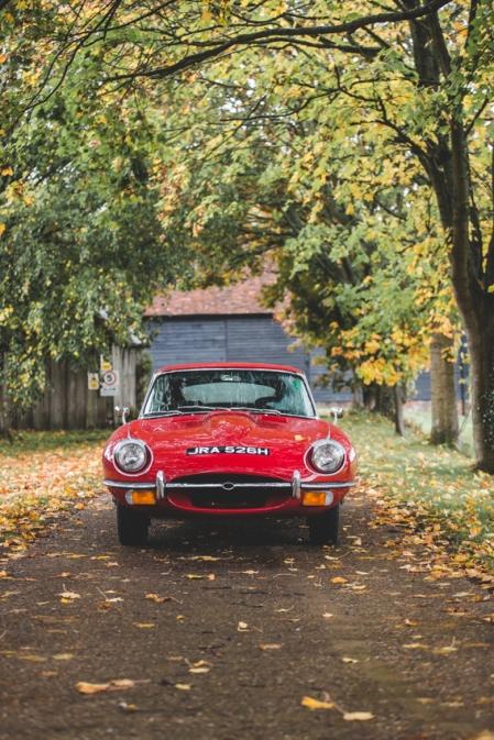 Jaguar e-Type 4.2 Series 2 1970 (1 of 80)