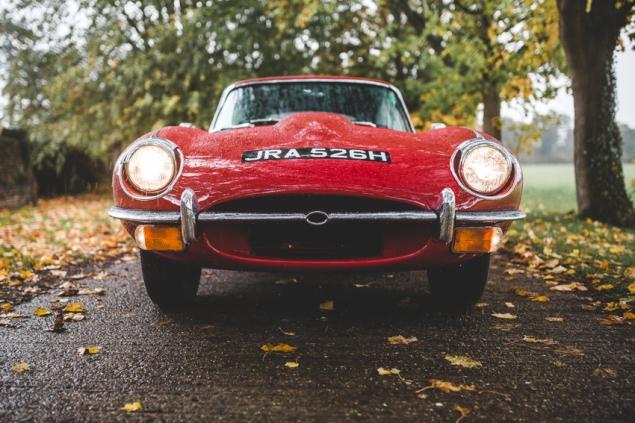 Jaguar e-Type 4.2 Series 2 1970 (52 of 80)