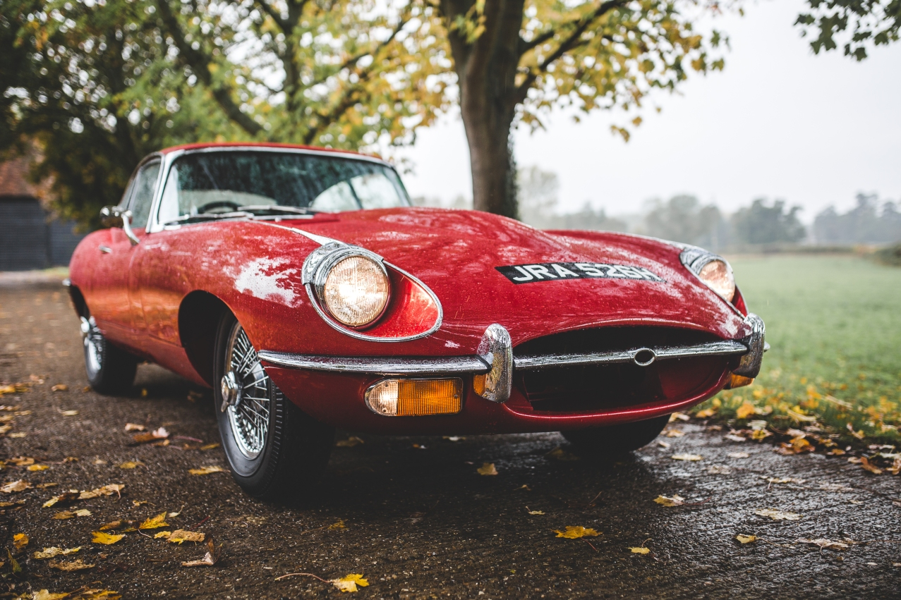 Jaguar e-Type 4.2 Series 2 1970 (51 of 80)