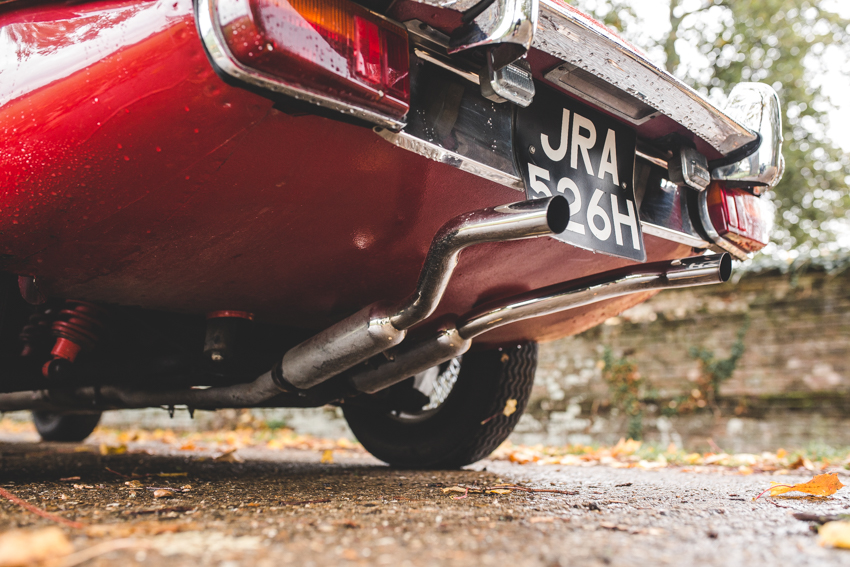Jaguar e-Type 4.2 Series 2 1970 (29 of 80)