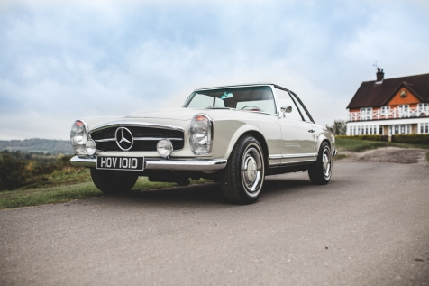 Mercedes 230SL Pagoda 1966 (60 of 127)