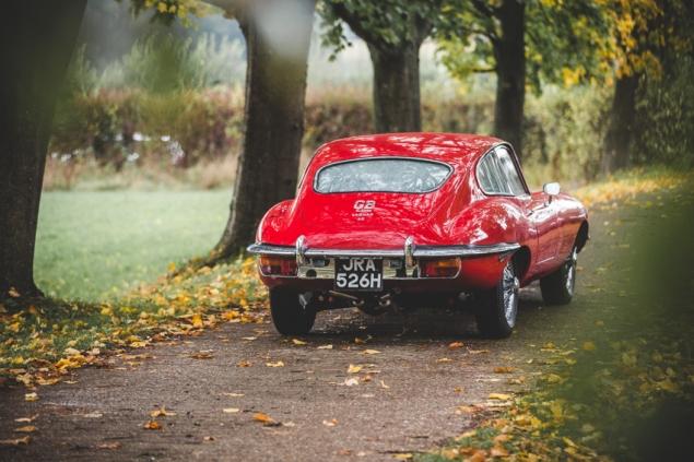 Jaguar e-Type 4.2 Series 2 1970 (18 of 80)
