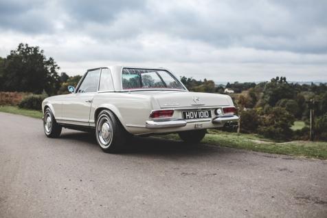 Mercedes 230SL Pagoda 1966 (59 of 127)